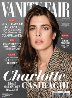 Charlotte Casiraghi for Vanity Fair France November 2016