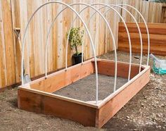 d I'll be trying this: DIY Covered Greenhouse Garden: A Removable Cover Solution to Protect Your Plants — Apartment Therapy Tutorials Diy Greenhouse Plans, Greenhouse Cover, Outdoor Greenhouse, Build A Greenhouse, Greenhouse Gardening, Diy Small Greenhouse, Cheap Greenhouse, Greenhouse Wedding, Gardening Hacks