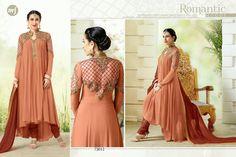 elezita floor length anarkali suit dress semi stitch suit kurtis top salwar suit in Clothing, Shoes & Accessories, Women's Clothing, Dresses | eBay