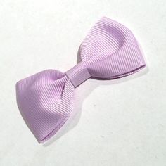 """Lavender 2.7"""" grosgrain bows ties. For headband making, barefoot baby sandals, sewing. Fold over elastic, rhinestones, appliqués & more also available."""
