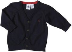 Navy Boys Classic Cardigan Features: Anch or Detail Blouse and Bodysuit Combination Machine Wash Cold on Reverse Side. Baby Sweaters, Little Man, Bodysuit, Navy, 3 Months, Baby Boys, Blouse, Classic, Cold