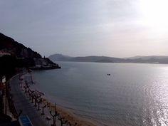 20/11/15 Nuestra bonita playa de San Martín bajo el sol otoñal. ¡Santoña te espera!