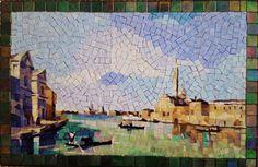 Made by studio Mosaico Arte e Mestieri, glass mosaic. http://mosaico-arte-mestieri.com/