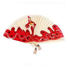 Abanico Diseño Flamenco