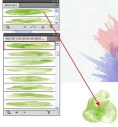 How to Create Watercolor Background in Adobe Illustrator - Illustrator Tutorials - Vectorboom Design Retro, Web Design, Website Design, Graphic Design Tutorials, Flat Design, Tool Design, Graphic Design Inspiration, Design Art, Vector Design