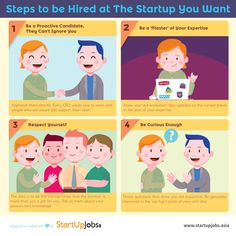 Step by step to be hired at the dream startup!