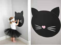 Purrr-fectly Adorable Kitty Cat Birthday - Smash Cake - The Best Cat Party Ideas Funny Party Games, Halloween Party Games, Birthday Party Games, 6th Birthday Parties, Birthday Activities, Fete Emma, Birthday Cake For Cat, Hello Kitty Birthday Party Ideas, Kitty Party Themes