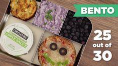 Bento Box Healthy Lunch 25/30 (Vegetarian) ZUCCHINI LATKES with zucchini, potato, shredded cheese,oat ,onion,garlic