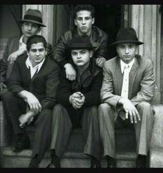 "A Bronx Tale movie. The boys from the ""Deuces Wild Social Club""."