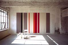 Studio Lawrence - Along these Lines - Akoestische wandbekleding Interior Design Vocabulary, Interior Design Studio, Studio Design, Acoustic Fabric, Acoustic Wall Panels, Design Awards, Wall Design, Interior Inspiration, Interior And Exterior
