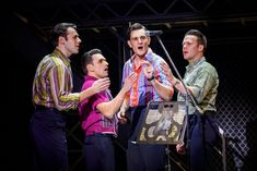 There are still goosebump-worthy moments in this Tony-winning Four Seasons bio-musical, but the show feels rushed and formulaic in a smaller theater. Theater Tickets, Jersey Boys, Auditorium, Four Seasons, Ny Times, Musicals, In This Moment, Broadway Theatre, Tucson