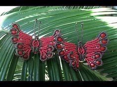 How to make a butterfly macramé