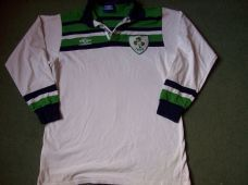 1992 1993 Ireland Rugby Union L/s Shirt Adults Large Classic Jersey