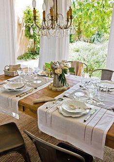 Una mesa muy delicada