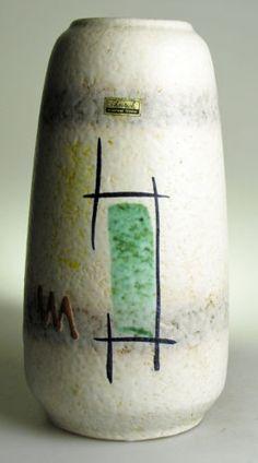 Scheurich Europ Linie West German Pottery Modernist 20 Mid Century Vintage Retro | eBay