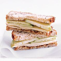 Cheddar and Apple Sandwich | 27 Awesome Easy Lunches To Bring To Work