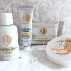 The Body Shop Almond Milk And Honey Range