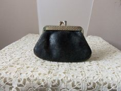 Leather Coin Purse  Antique Coin Purse  Grandma's by 3OldeBroads, $17.00