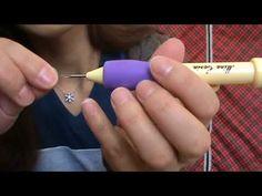 PANÇ İŞİ havlu yapımı (panç ignesi ile havlu işleme) KENDİN YAP - YouTube
