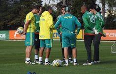 Sem Dudu e Thiago Santos, Palmeiras se reapresenta de olho em mata-mata