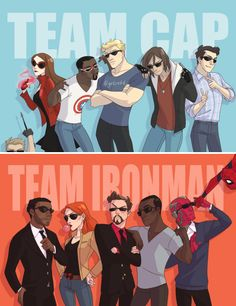 Which team are you on? #marvel