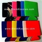 Collapsible blank koozies ... in bulk!