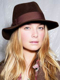 A classic fedora inspired by Ralph Lauren's F/W '14 runway show