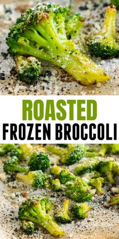 Roasted Frozen Broccoli Recipe