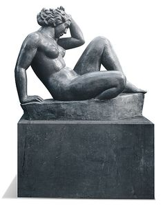Aristide MAILLOL France 1861 – 1944  La Montagne  [The mountain] 1937 lead…