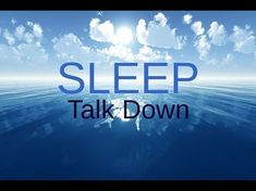 SPOKEN Sleep Talk Down: Meditation for healing, insomnia, relaxing sleep - YouTube #InsomniaNight