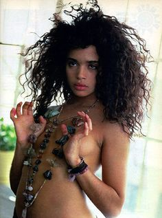 Lisa Bonet, I almost didn't notice your beautiful jewelry