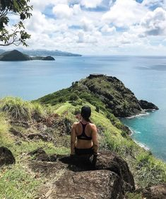 May this #EasterMonday bring peaceful moments of reflection like this one at Pigeon Island ☀️ 📷 brittany_rose28 📍Pigeon Island National Landmark #SaintLucia #LetHerInspireYou