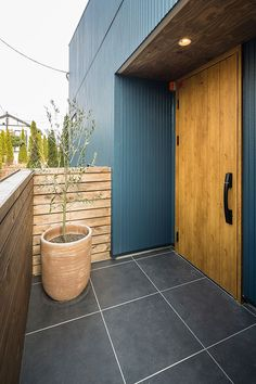 Door Design, Exterior Design, Interior And Exterior, House Design, House Entrance, Entrance Doors, Front Doors, Double Storey House, Foyer Staircase
