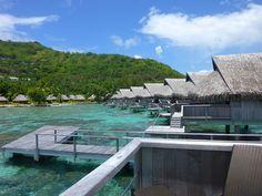 Overwater Bungalows at the Sofitel Moorea Ia Ora Beach Resort