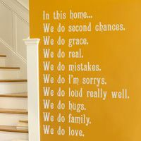 Hopefully my husband will be alright with this going on the wall of our house:)