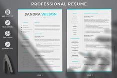 2 & 3 Page Resume Template Bundle + Matching Cover Letter + References + social icon set.. Present your design on this mockup. Includes special layers and smart objects for your creative works. Tags: a4 resume, actor resume, administrative assistant resume, Cover letter format, creative cv template, Creative resume format, Creative Resume Template, cv bilingue, CV bundle, cv créatif, data scientist resume, entry level resume, instant download resume, latex resume, letter template, pages…