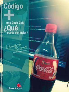 Devorador de código. Coca Cola, Drinks, Bottle, Loyalty, Grow Taller, Drinking, Beverages, Coke, Flask