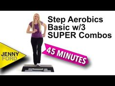 New FREE basic step workout! Begin with a SUPER fun warm-up followed by 3 fun combos. At the end we'll put them together back to back. End with a quick cool down and stretch. Would love to know what you think, as always, so be sure to leave me a comment.