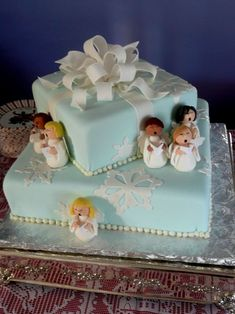 Angel Choir Cake on Cake Central