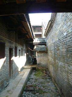 Heritage Hakka Toulou in Dapu. In Dapu it is not entire circular as in Hakka Homeland in Fujian.