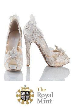 Georgina Goodman, bridal shoes, wedding shoes, royal wedding shoes