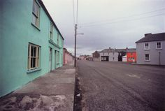 """Harry Callahan: """"Ireland"""", 1979 - look at the lines and division in this photo: nifty"""