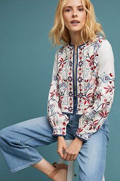 MISA Luce Embroidered Jacket #ad