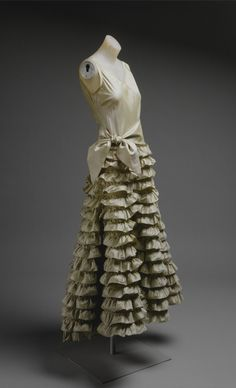 Evening Dress, Jeanne Lanvin for the House of Lanvin: ca. 1930, French, silk