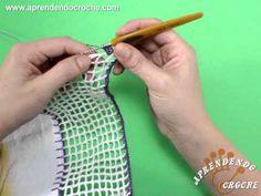 Barrado de Crochê Formoso - Aprendendo Croche