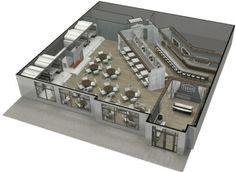 restaurant design style by design