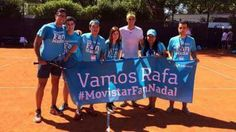 Rafa with fans