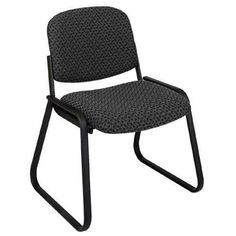 office star space seating 5500 professional black airgrid back
