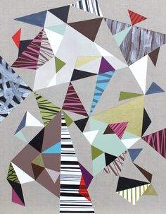 SOLD to a collector from AUSTRIA. Triangles 2 Your Favorite, Quilts, Blanket, Create, Artwork, Work Of Art, Auguste Rodin Artwork, Quilt Sets, Artworks
