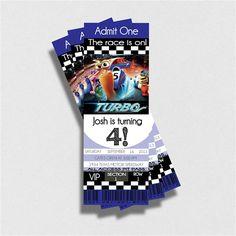 Disney Pixar Turbo the Racing Snail Digital by KennedyLaneDesigns, $12.00
